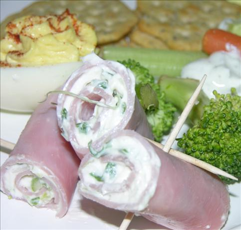 Ham and Cream Cheese Rollups. Photo by GrandmaIsCooking