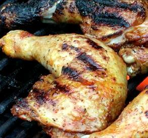 Grilled Chicken Legs