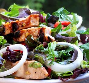 Ginger Marmalade Chicken Salad