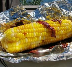 Grilled Corn With Chipotle