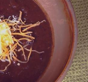 Panera Bread Black Bean Soup