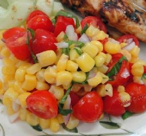July 16: Corn & Tomato Salad