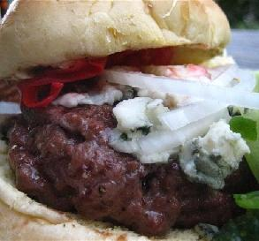 Blue Cheese Burgers