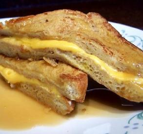 Bacon-Cheese French Toast
